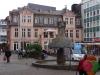 Bingen - Marktbrunnen op de Speisemarkt (okt 2017)