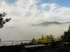 Burg Arras - mist na 3 kwartier (okt 2012)
