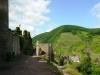 Burg Metternich – uitzicht binnen (juli 2013)