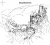 Burg Bosselstein - tekening (okt 2018)