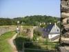 Burgruine Kronenburg - dorpskant (sept 2004)