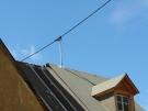 Dachständer op nieuwe dak (aug 2013)