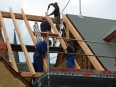 2e balk van de dakkapel (okt 2013)