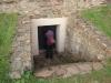 Romeinse grafkamer Nehren - de ingang (okt 2012)