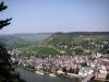 Grevenburg - zicht op Traben (juli 2006)