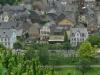 Kletterweg 2011 na 28 min: gevonden; het huis met de luiken in het midden