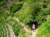Kletterweg 2011 na 37 min: een oude schuilhot van de Winzers