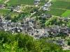 Kletterweg 2011 na 1 u 8 min: uitzicht op Erden vanaf de Burgberg