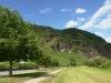 """Kletterweg 2011: de """"wandelberg"""" gezien vanaf Ürzig"""