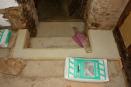 afwerkvloer bij trap (juli 2018)