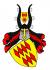 Burgruine Löwenburg - Wapen Virneburg