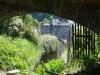 Monreal Burgenwandeling - onder het spoor door (mei 2018)