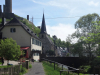 Monreal - Pfarrhaus, Kerk en Burcht (mei 2018)