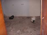 een kale keukenvloer (okt 2008)