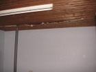 de regenpijpstut onder het schrootjesplafond (2007)