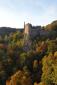 Schloss Oberstein - een Höhenburg in het landschap (okt 2018)