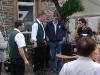Spass auf der Gass 2011 - overleg tussen dirigent en technici