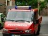 Trachtentreffen – de brandweer rijdt vooraan en achteraan (juli 2014)