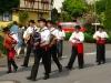 Trachtentreffen - de muziekanten van Grupo Etnografico Do Alto Minho (juli 2014)