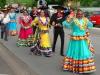"Trachtentreffen – de veelkleurige Compania de Danza Folklorica ""Soy Mexico"" (juli 2014)"