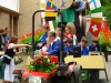 Trachtentreffen - als laatste de Festwagen Kröver Nacktarsch (juli 2016)