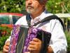 Trachtentreffen - muzikant Grupo Etnografico Do Alto Minho (juli 2018)