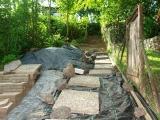 een pad tot bovenaan (juli 2011)