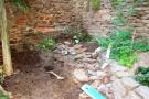afgraven bovenkant tuinkelder (aug 2016)