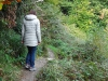 Wandeling Rheinstein 1 - geen breed pad (okt 2017)