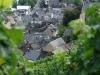 Weinlehrpfad - Uitzicht op ons huis (aug 2011)