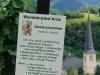 Weinlehrpfad - Infobord Gewürztraminer, kerk en Mosel (aug 2011)