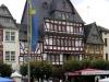 Adenau - marktplein (aug 2004)