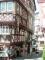 Bernkastel-Kues - breder wordend huis (juli 2006)