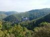 Burg Eltz - vanaf andere heuvel (okt 2012)