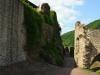 Burg Metternich – langs de binnenmuur (juli 2013)