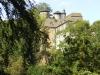 Burg Monschau - andere kant tussen de bomen (aug 2004)