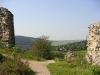 Burgruine Kronenburg - restanten (sept 2004)
