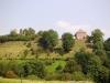 Burgruine Kronenburg - zicht op Burgort (sept 2004)