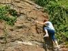 Collis Steilpfad - volop klimmen (juni 2015)