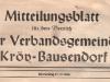 Mitteilungsblatt der Verbandsgemeinde Kröv-Bausendorf (1988)