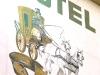 De beschildering van Zur Post (juli 2011)