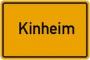 Kinheim - naam