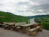 Kletterweg 2011 na 15 min: een picknick plaats met een mooi uitzicht