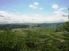 Kletterweg 2011 na 58 min: wijds uitzicht, wat verpest gaat worden door een Hochmoselübergang