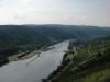 Kövenig - uitzicht op de stuwsluis (juli 2007)