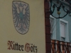 Hotel Reichsschenke Ritter Götz Robert Schuman-Strasse - wapen (aug 2011)