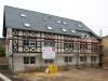Nieuwbouw met oude gevel aan de Robert Schuman-Strasse (april 2013)