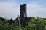 Burgruine Löwenburg - opvallende toren (mei 2018)