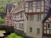 Monreal - huizen aan de Elzbach (mei 2018)