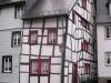 Monschau - niet recht (juli 2007)